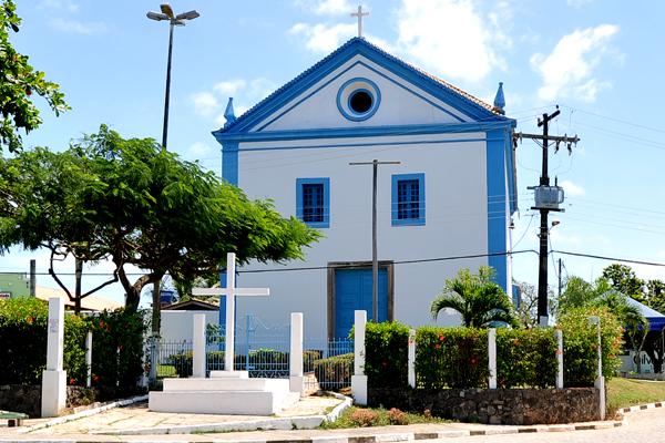 O que fazer em Camaçari - Abrantes - Igreja Divino Espirito Santo - ©PrefeituraCamaçari