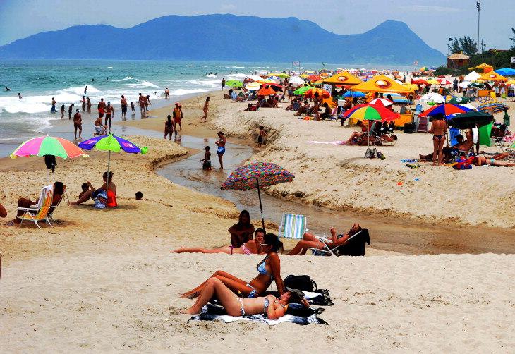Praia do Campeche - Riozinho