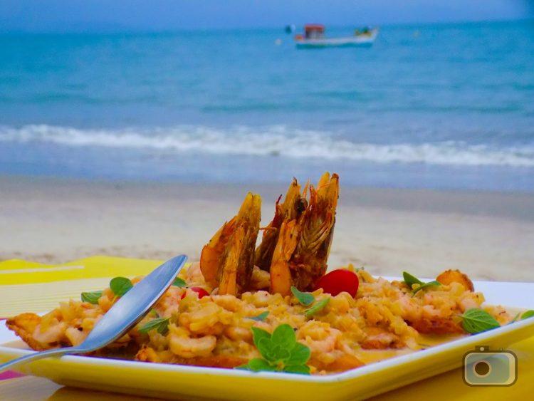 Praia do Campeche - Gastronomia
