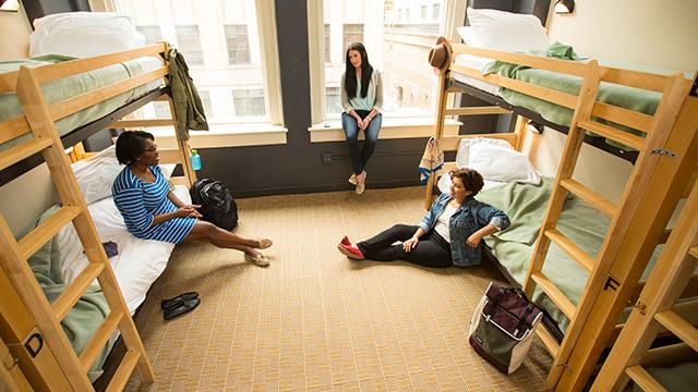 Hostel ou apartamento