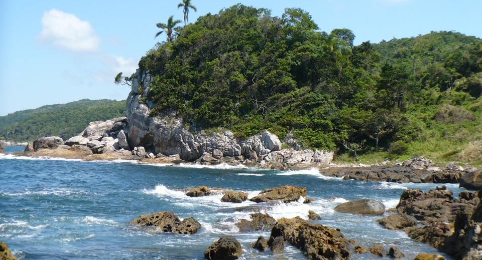 Pontos turísticos secretos em Bombinhas - Praia da Galheta