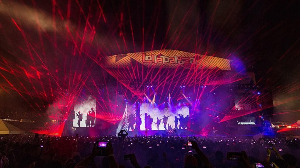 Festivais de música no Brasil - lollapalooza - ©gazetadopovo