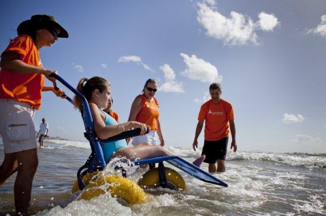 Praias de Florianópolis com acessibilidade - ©TudoSobreFloripa