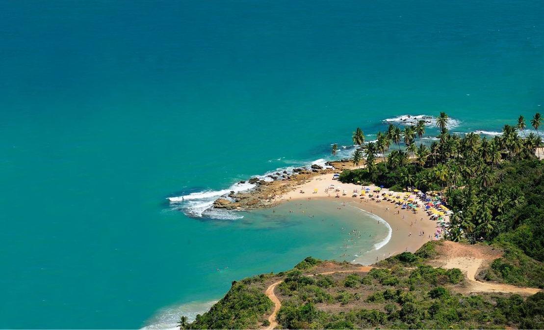 Conheça a linda Costa do Conde, no litoral da Paraíba