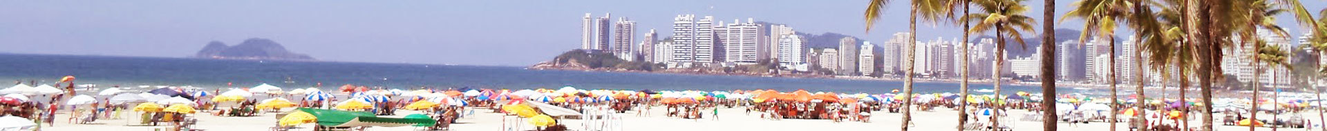 Vacation rental in Guarujá