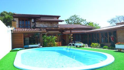 Casa para alugar em florianopolis para temporada praia for Casas con piscina bucaramanga