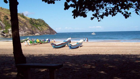 House for rent in Ilhabela - Praia do Curral Grande