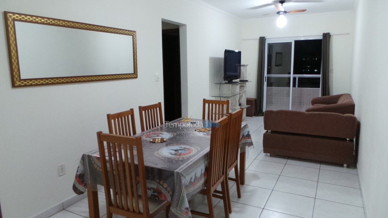 Apartment for vacation rental in Praia Grande (Vila Tupi)
