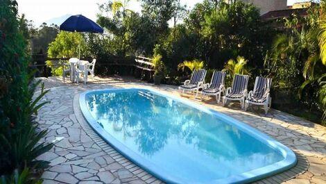 Casa para alquilar en imbituba para vacaciones praia do for Alberca para 8 personas