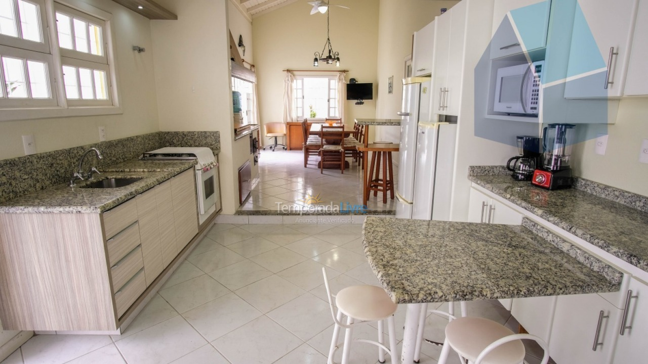 House for vacation rental in Florianópolis (Cachoeira do Bom Jesus)