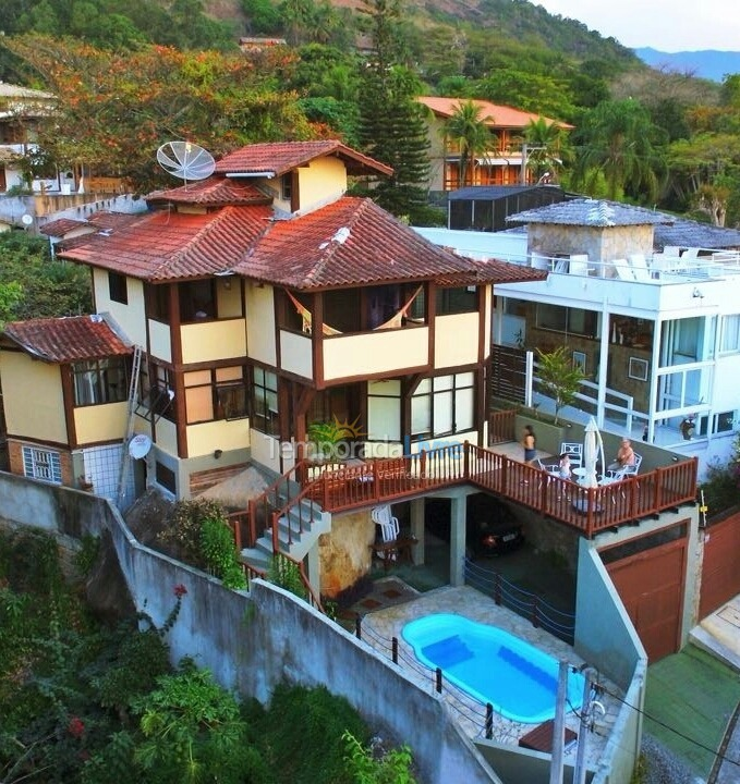 House for vacation rental in Ilhabela (Centro Vila)