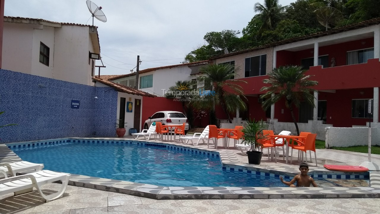 Apartment for vacation rental in Porto Seguro (Praia de Taperapuan)