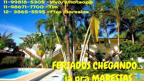 Apartment for rent in São Sebastião - Maresias