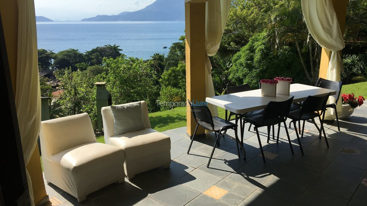 House for vacation rental in Ilhabela (Praia do Curral)