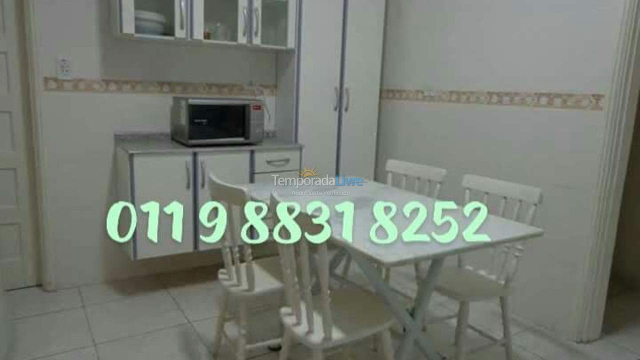 Apartment for vacation rental in Guarujá (Enseada)