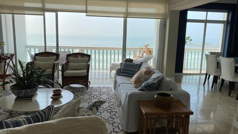 Apartment for rent in Guarujá - Pitangueiras